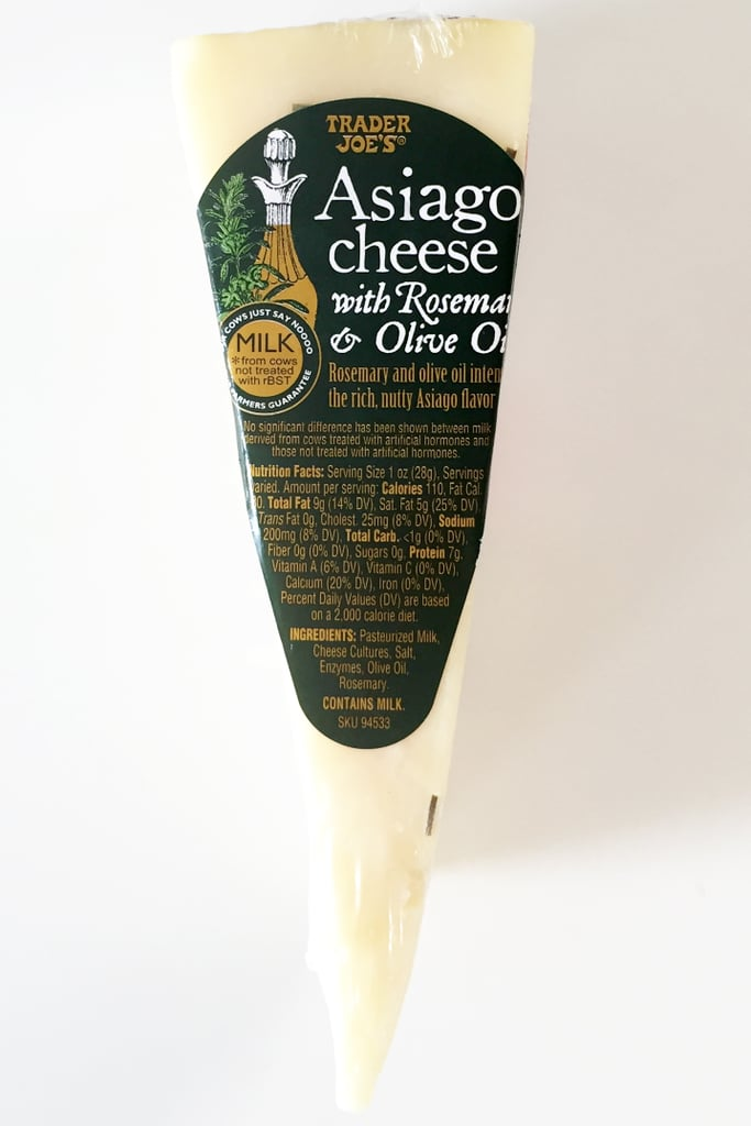 Asiago Cheese With Rosemary and Olive Oil ($9/pound)