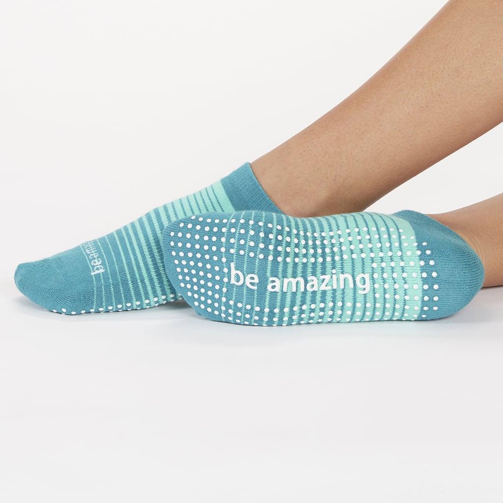 "Sticky Be ""Be Amazing"" Grip Socks"