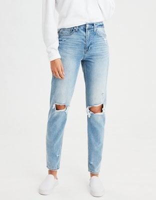 A Staple Jean: AE Ripped Mom Jean