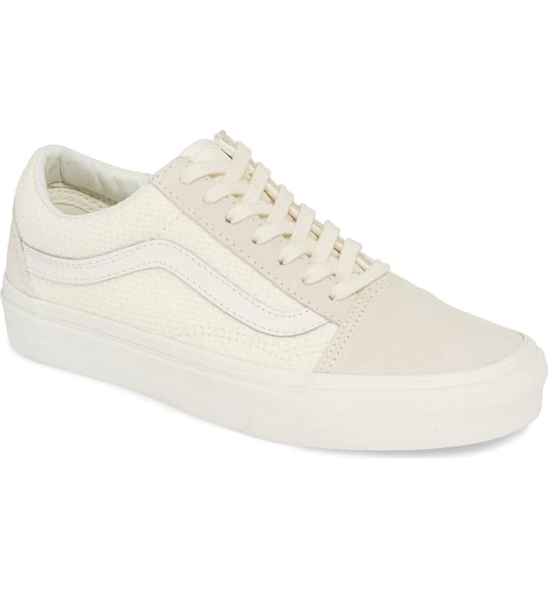 Vans Old Skool Woven Check Sneaker (Women | Vans old skool