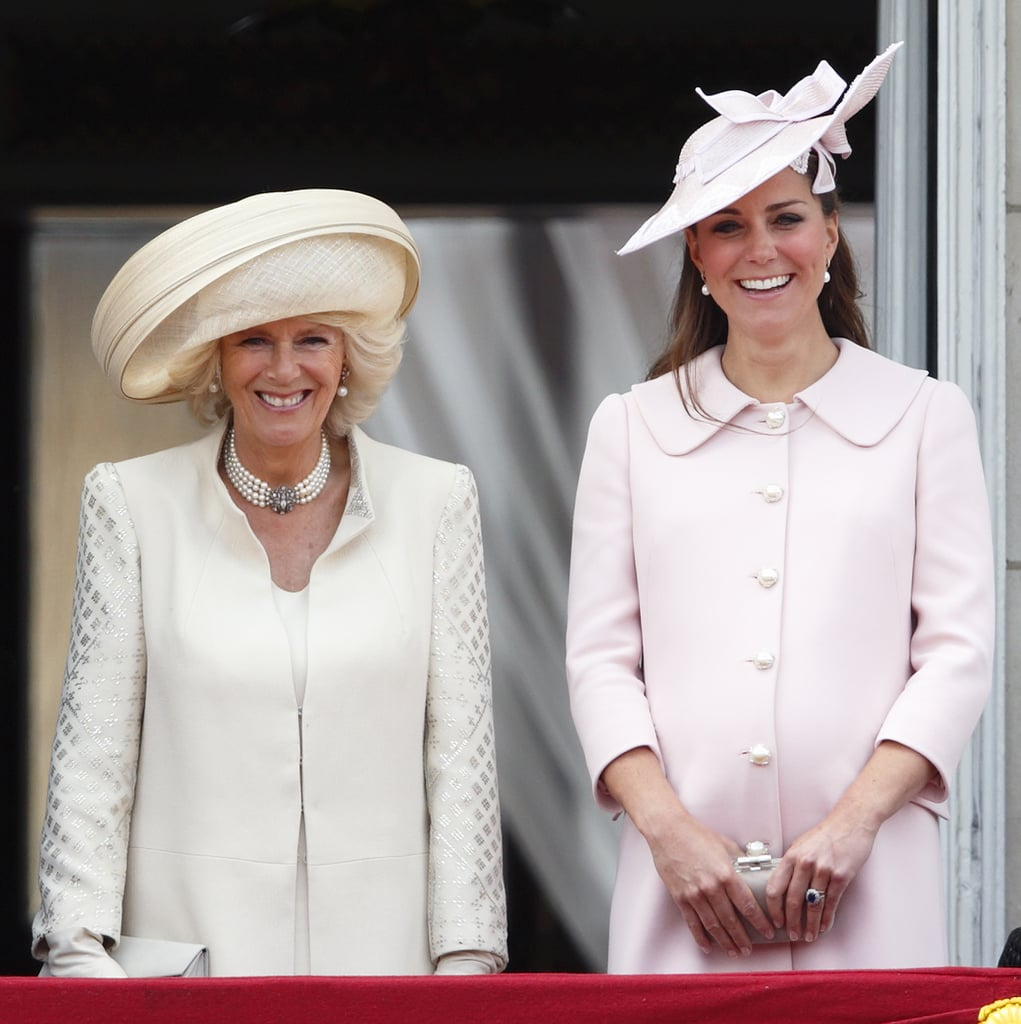 Camilla Is Close to Kate Middleton