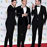 Pictured: Jamie Bell, Taron Egerton, and Richard Madden