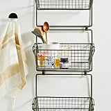Three-Tier Basket Wall Storage