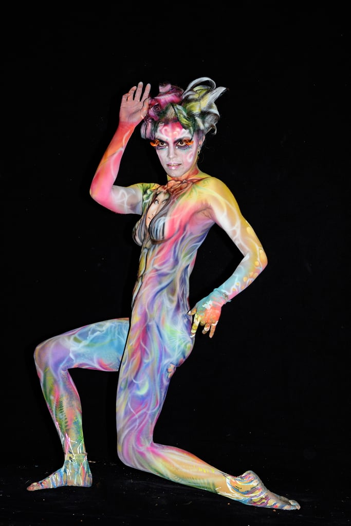 body painting image