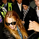 Lohan and Samantha Tour Europe