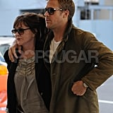 Ryan Gosling and Donna Gosling were out and about in NYC.