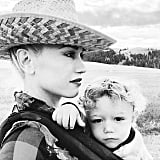 Gwen Stefani With Son Apollo in Montana | Instagram Photos