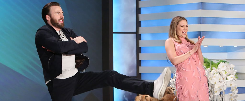 "You Have Not Truly Lived Until You've Seen Chris Evans Do Beyoncé's ""Single Ladies"" Dance"
