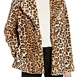 Halogen Faux-Fur Coat