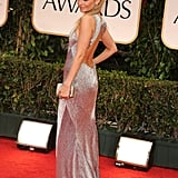Nicole Richie at the Golden Globes.