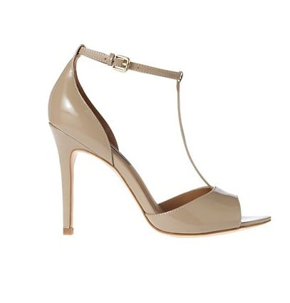 These Ann Taylor Lucia T-strap sandals ($128) will lend a vintage-inspired touch to your dress.