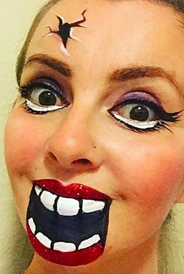 Halloween Costume Face Paint Ideas