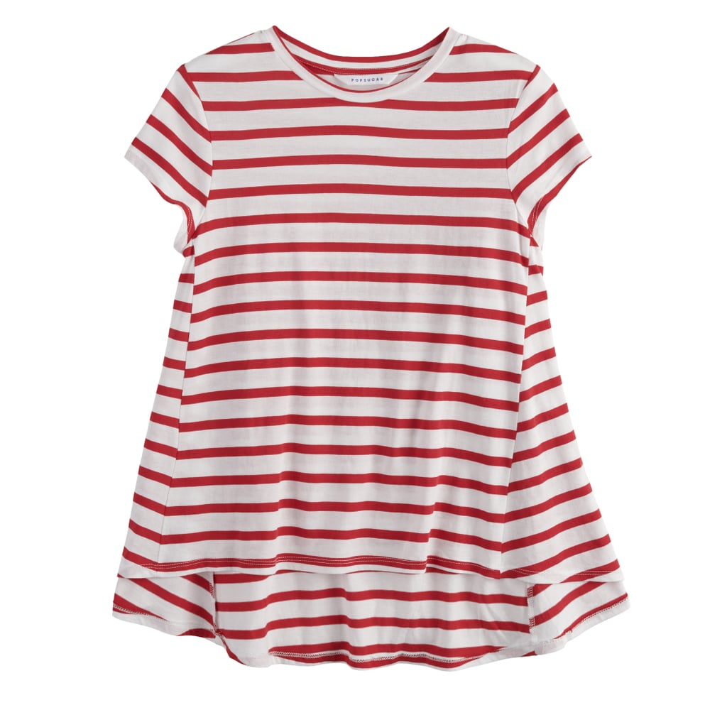 The Stripe: A Babydoll Tee