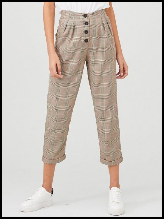 V by Very Checked Trouser