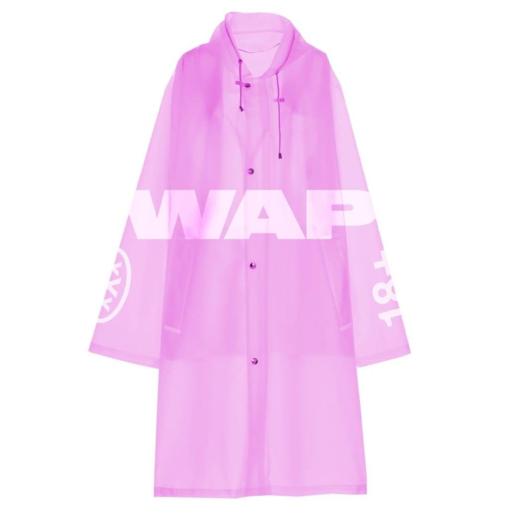 Cardi B WAP Raincoat (Pink)