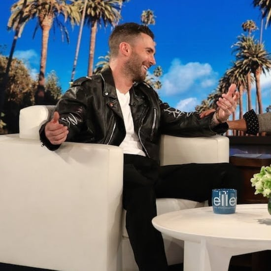 Adam Levine Talking About Daughters on Ellen Show May 2018
