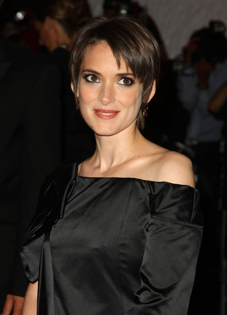 Winona Ryder With a Pixie Cut