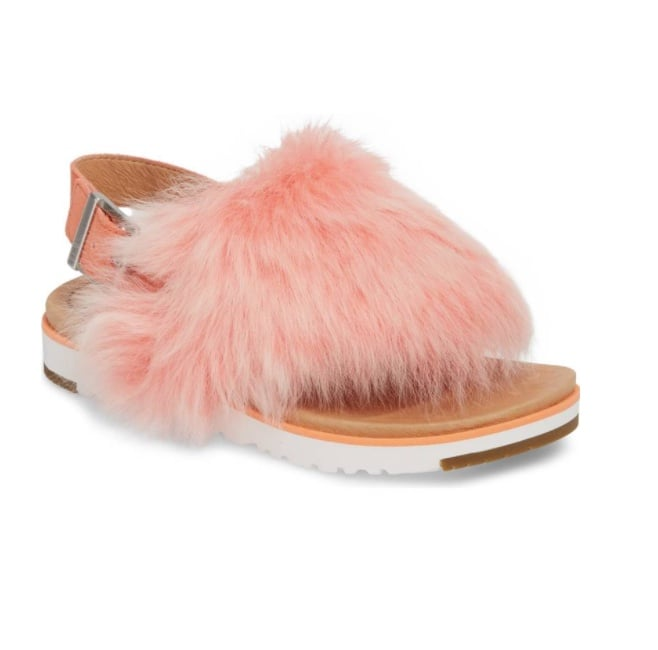 673365cb901 Furry Sandals Trend | POPSUGAR Fashion