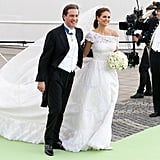 Princess Madeleine of Sweden married her US banker beau in a lavish ceremony on June 8.