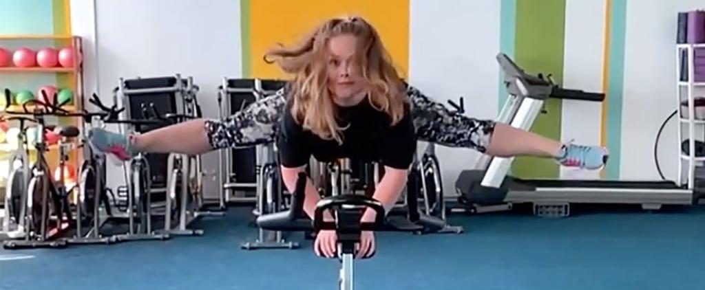 Watch Olena Sheremet's Cycle Gymnastics Videos