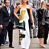 Blake's Oscar de la Renta Dress