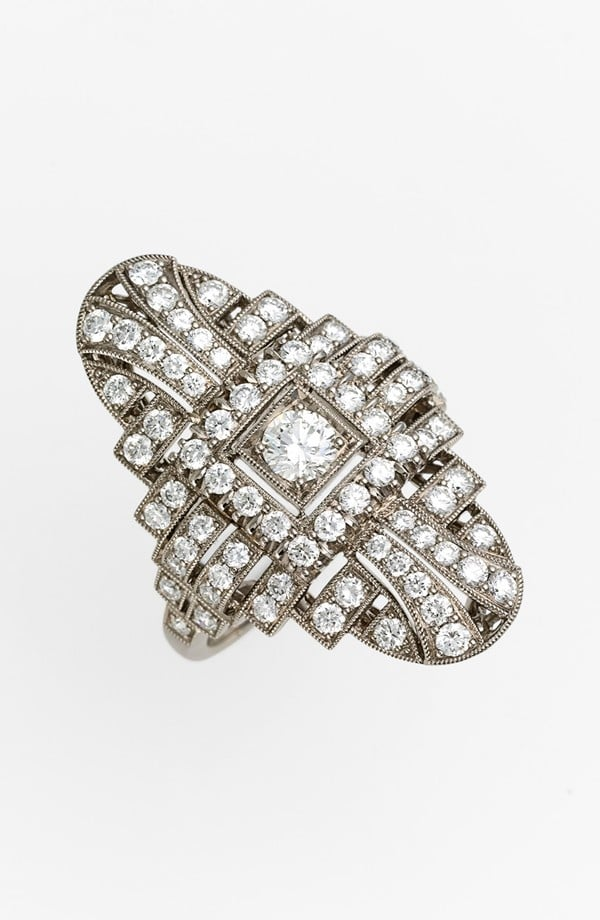 "Kwiat ""Vintage"" Oval Diamond Ring ($8,300)"