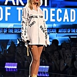 Taylor Swift Performing at the American Music Awards 2019