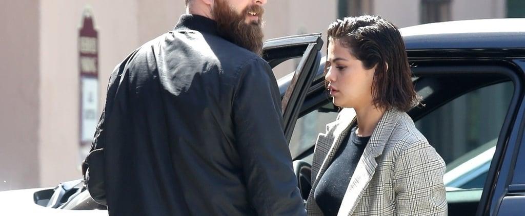 Selena Gomez Dior Slingback Shoes