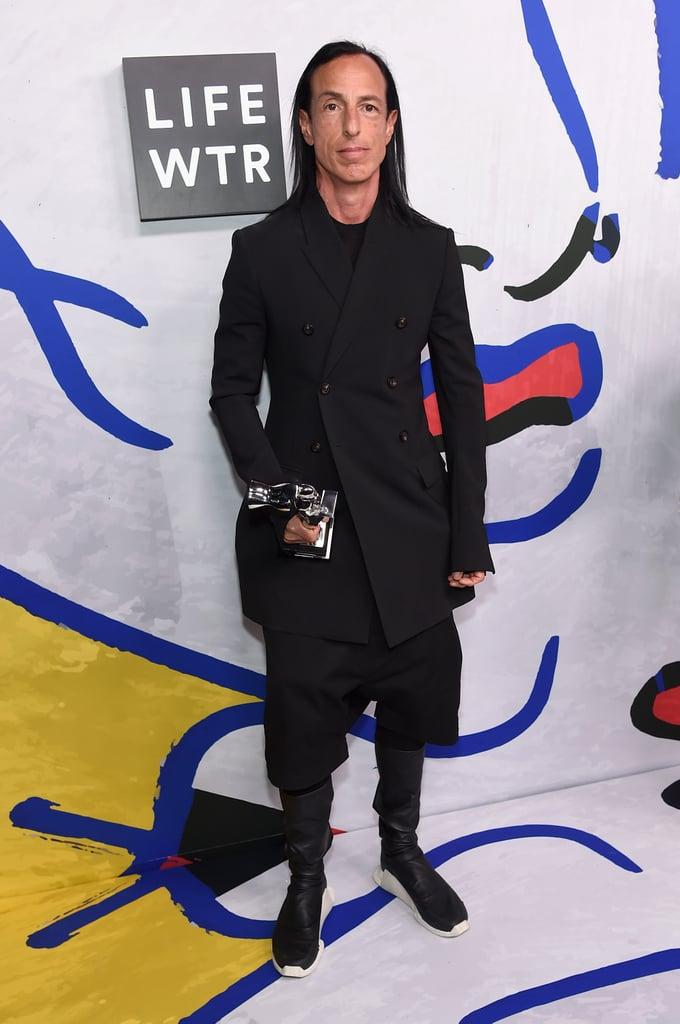 Geoffrey Beene Lifetime Achievement Award: Rick Owens