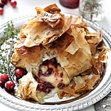 Air Fryer Baked Brie With Cranberry Filling