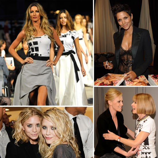Pictures From Fashion's Night Out: Charlize Theron, Gisele, Mary-Kate And Ashley Olsen & More