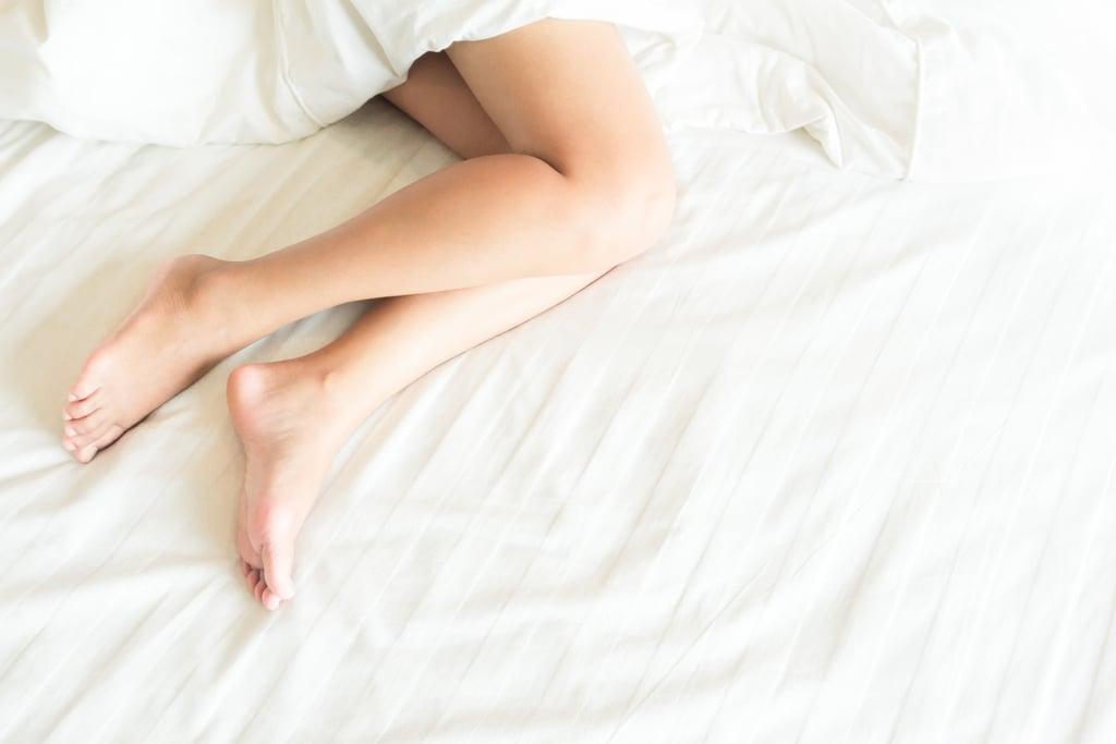Smooth Cracked Feet While You Sleep