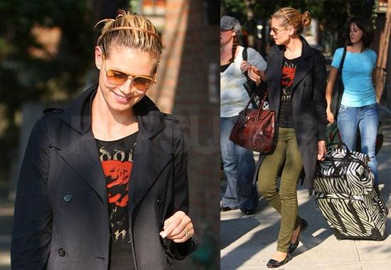 Photos of Heidi Klum in NYC and Project Runway Season Five Recap