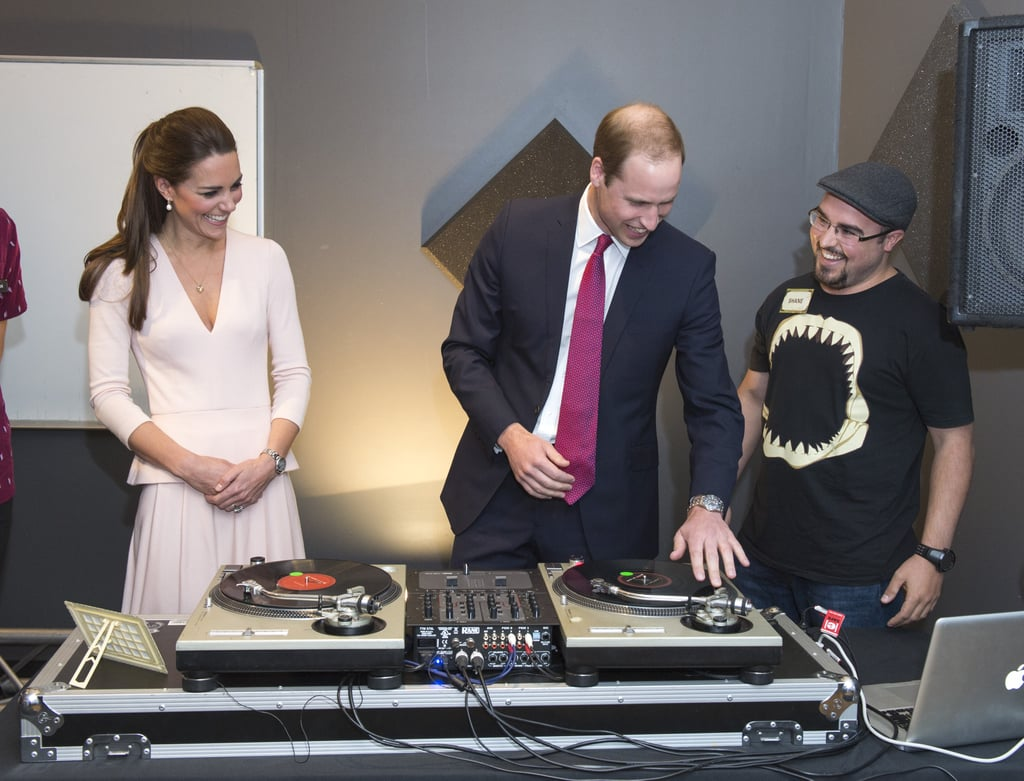 William, You Just Can't Look Cool Deejaying in a Suit and Tie