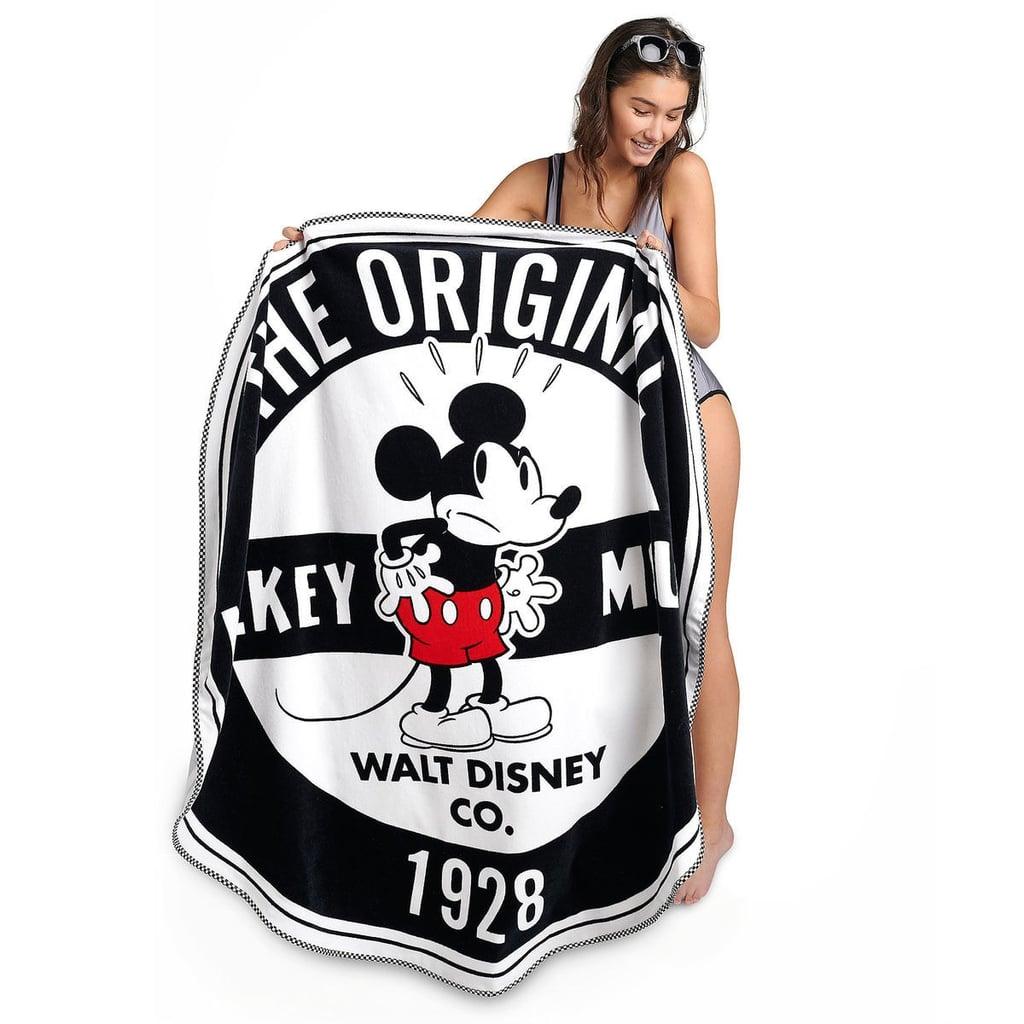 e210b914669f Mickey Mouse Round Beach Towel | Oh My Disney Aladdin Lion King Swim ...