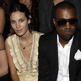 Pictures of Alexa Chung Naomi Campbell Kanye West at Paris Fashion Week 2011-03-09 02:56:49