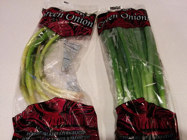 Green Onions That Deserved a Better End Than This