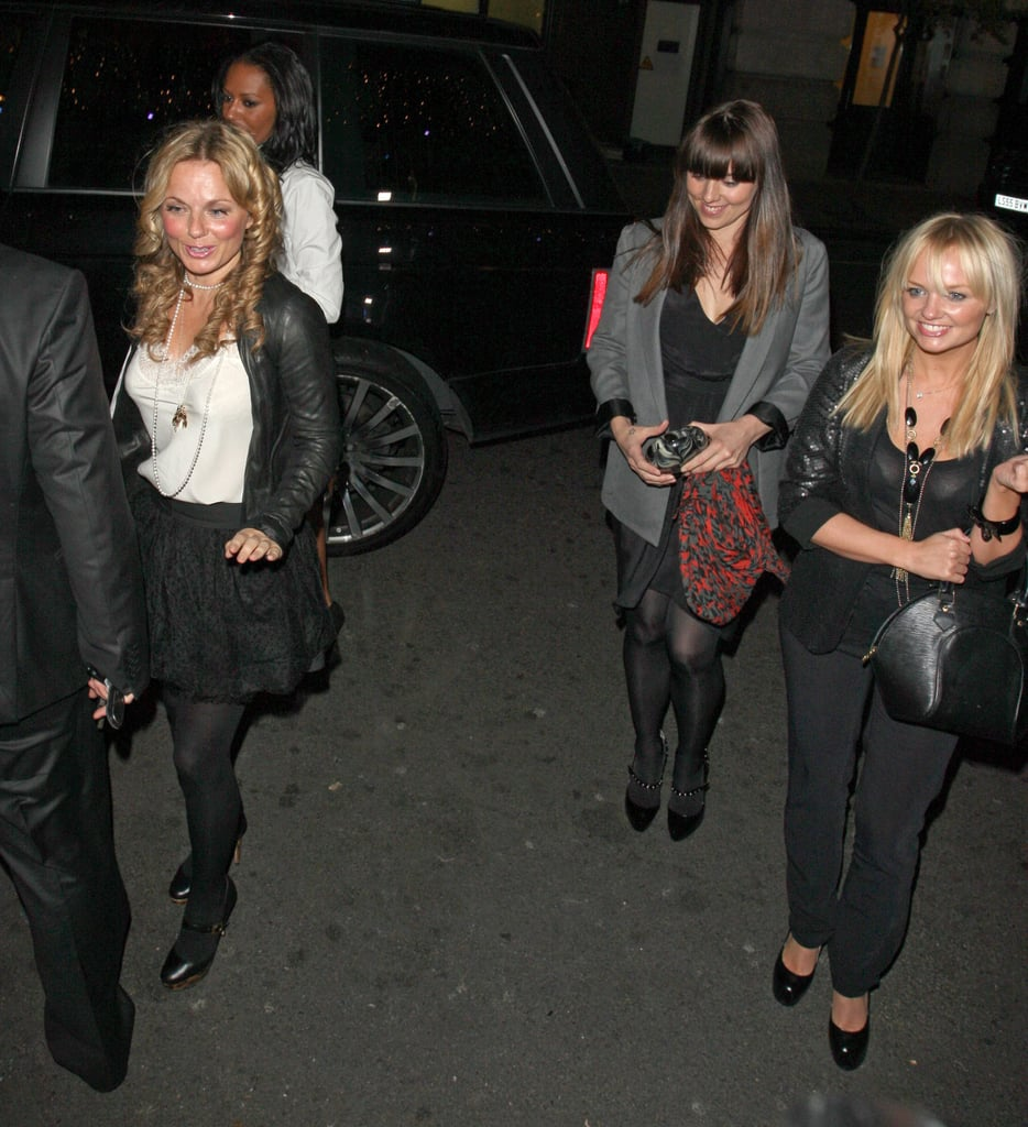 Spice Girls Reunite In London For Dinner