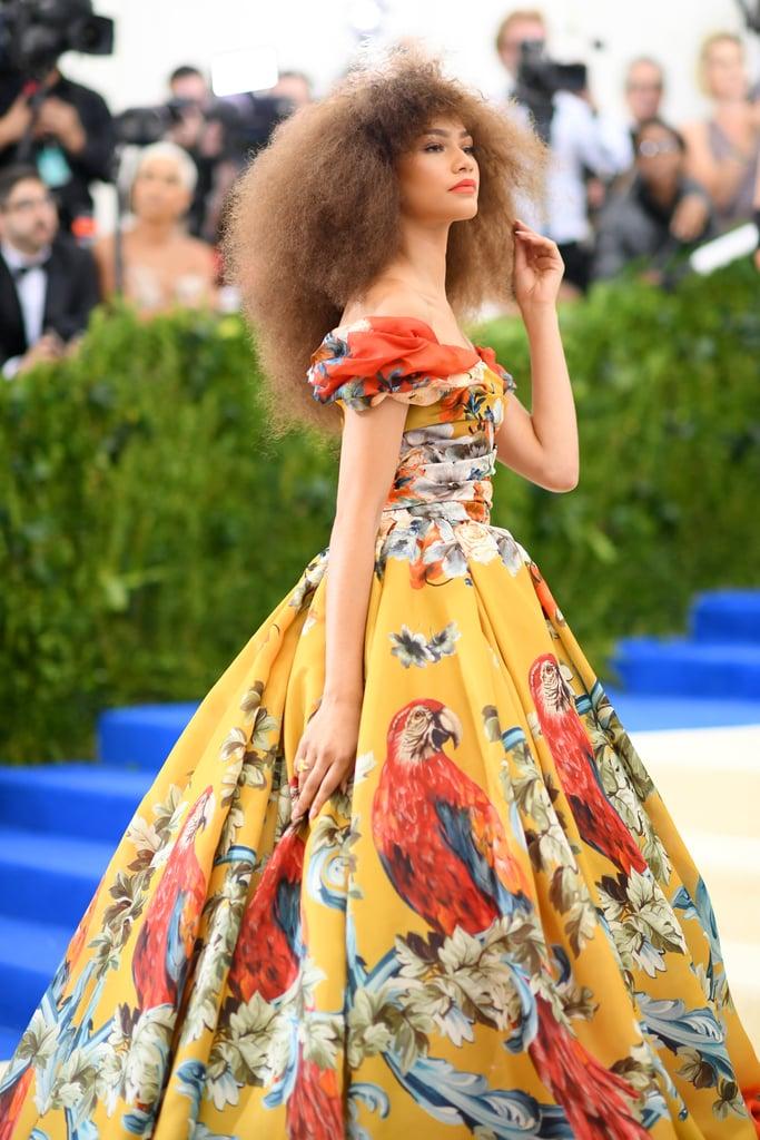 Zendaya Dolce & Gabbana Dress at the Met Gala 2017