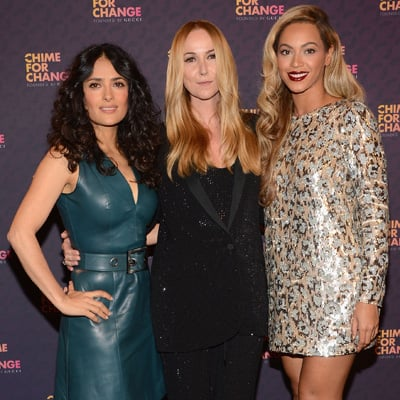 Celebrities At 2013 Chime For Change Concert: Beyoncé, Jay-Z