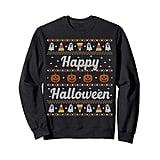 Funny Ugly Sweater Happy Halloween Sweatshirt