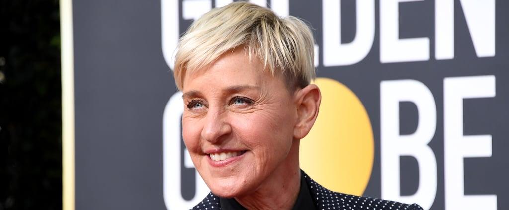 Ellen DeGeneres Announces She Tested Positive For COVID-19