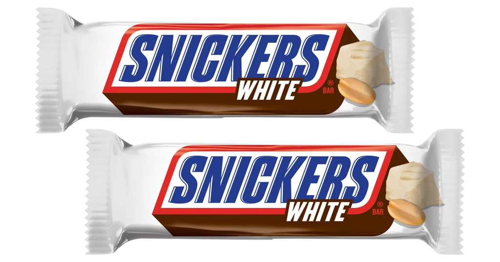 2020's Already Looking Sweet, Because White Chocolate Snickers Are Coming Back!