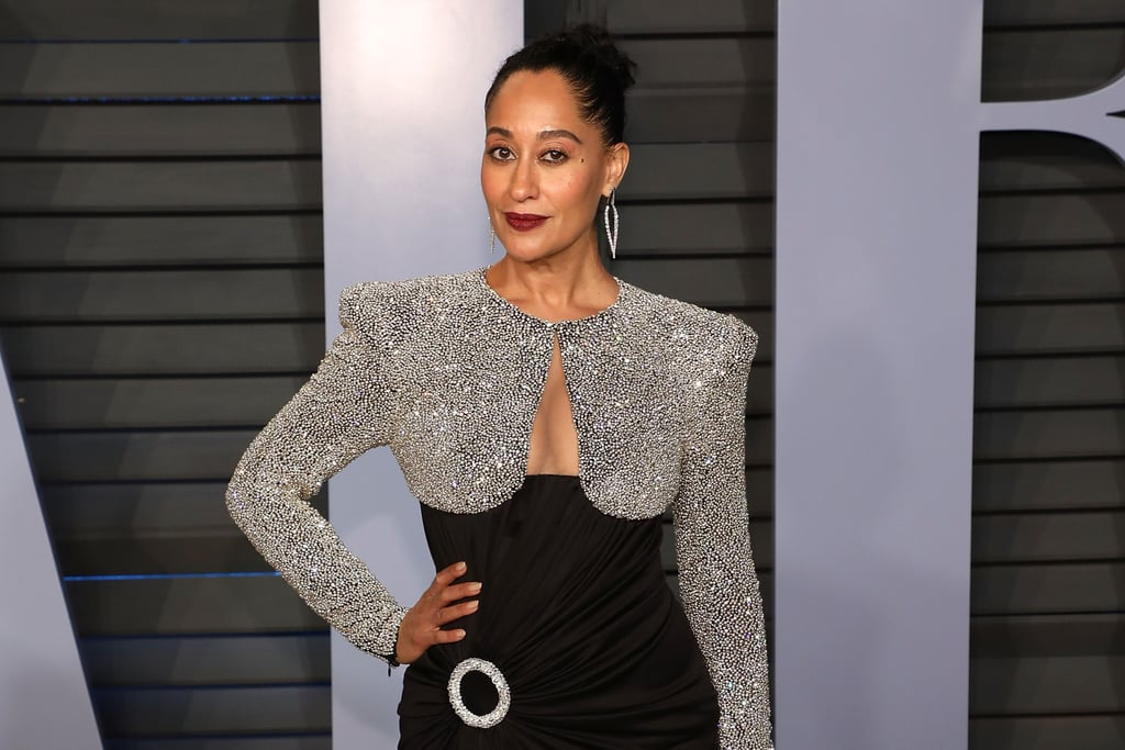 Tracee Ellis Ross Balmain Dress At Oscars Afterparty 2018 Popsugar