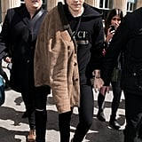 Even Harry Styles Got in on the Action Wearing a Black Hoodie