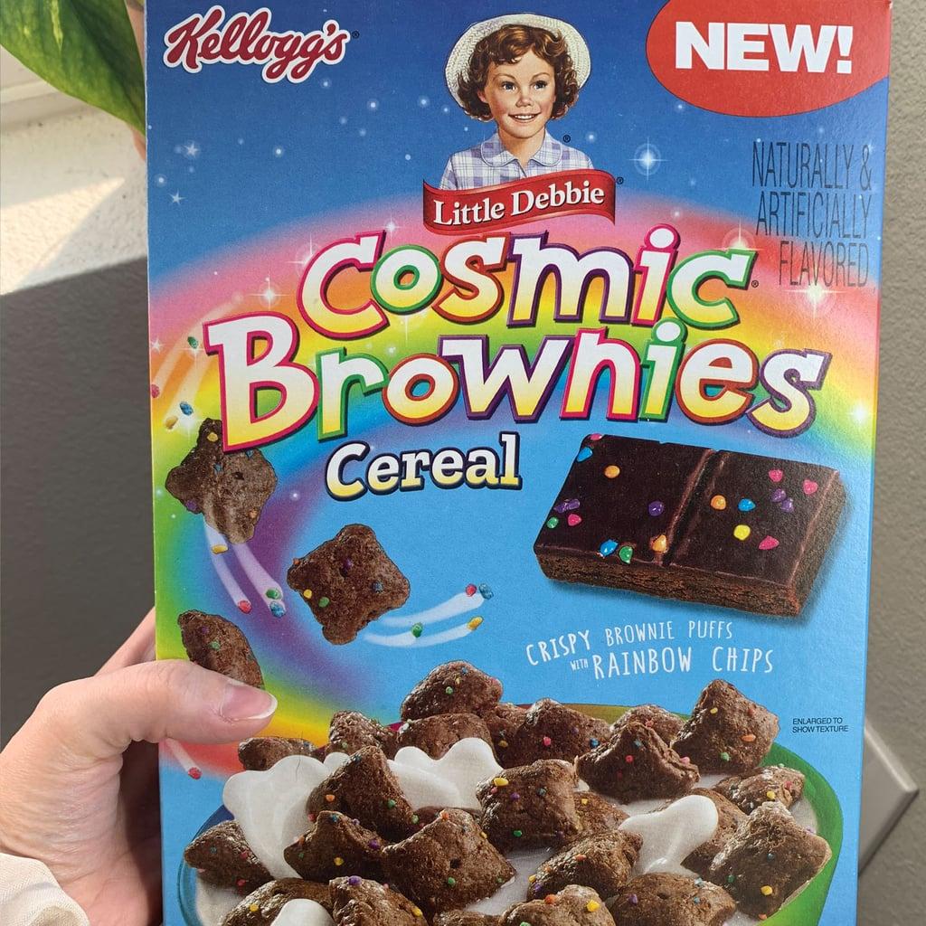 Little Debbie Cosmic Brownie Cereal With Galactic Sprinkles