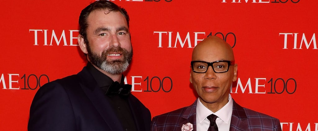 RuPaul and His Very Tall, Very Handsome Husband Make Their Red Carpet Debut