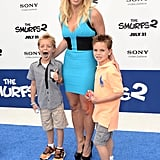 Britney Spears's kids are 8 and 9 years old.
