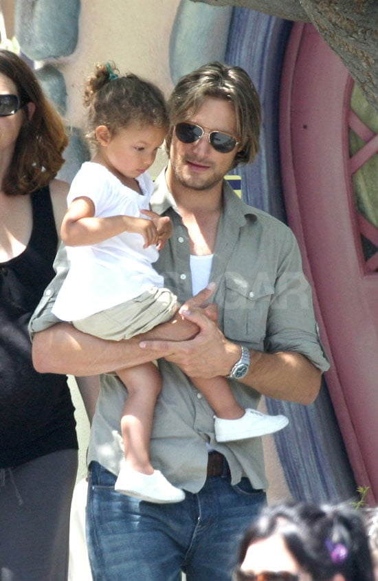 Pictures of Gabriel and Halle