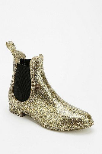 Glitter Rain Booties | What Our Editors